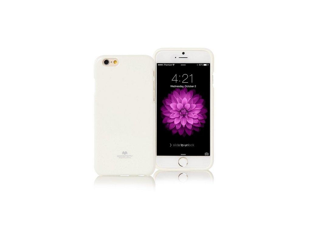 Pouzdro / kryt pro Apple iPhone 7 / 8 / SE (2020) - Mercury, Jelly Case White