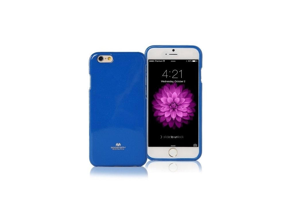 Pouzdro / kryt pro Apple iPhone 7 / 8 / SE (2020) - Mercury, Jelly Case Blue