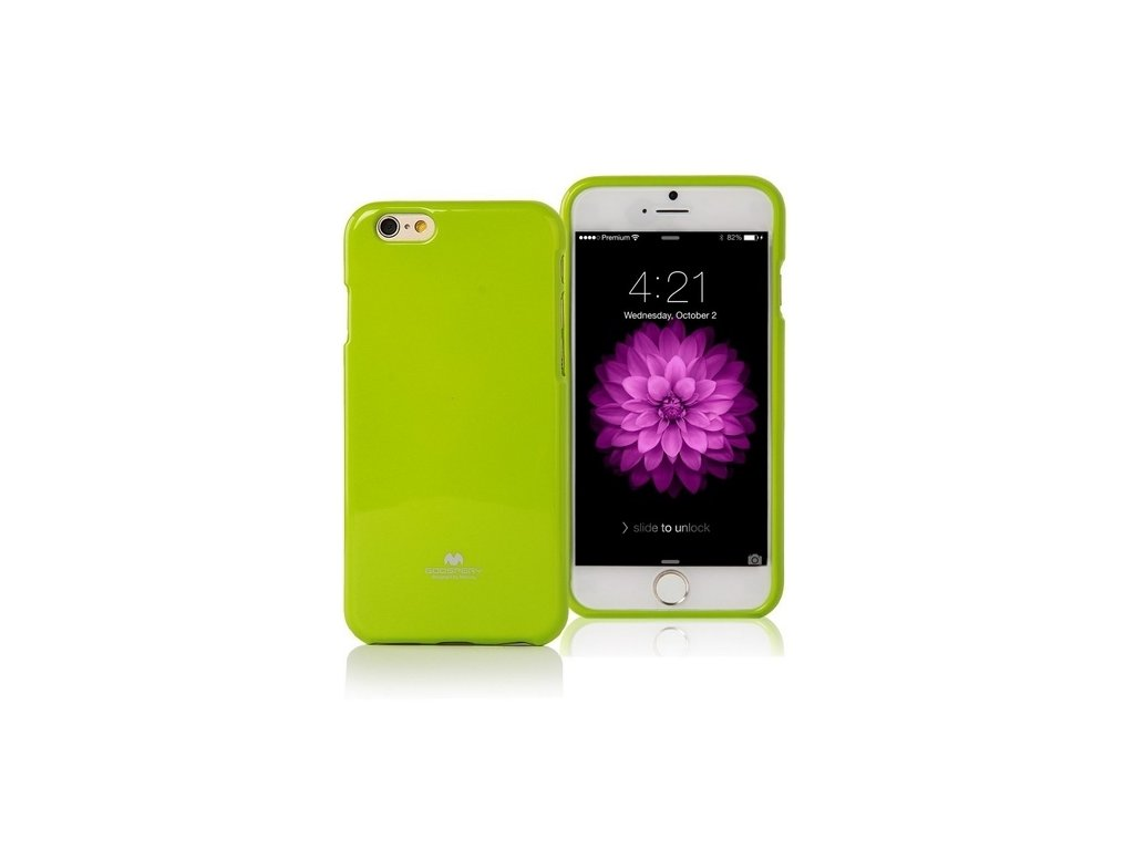 Pouzdro / kryt pro Apple iPhone 7 / 8 / SE (2020) - Mercury, Jelly Case Lime