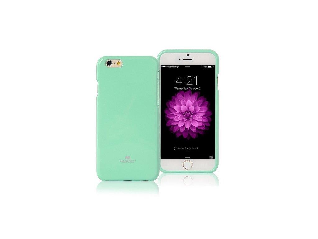 Pouzdro / kryt pro Apple iPhone 7 / 8 / SE (2020) - Mercury, Jelly Case Mint