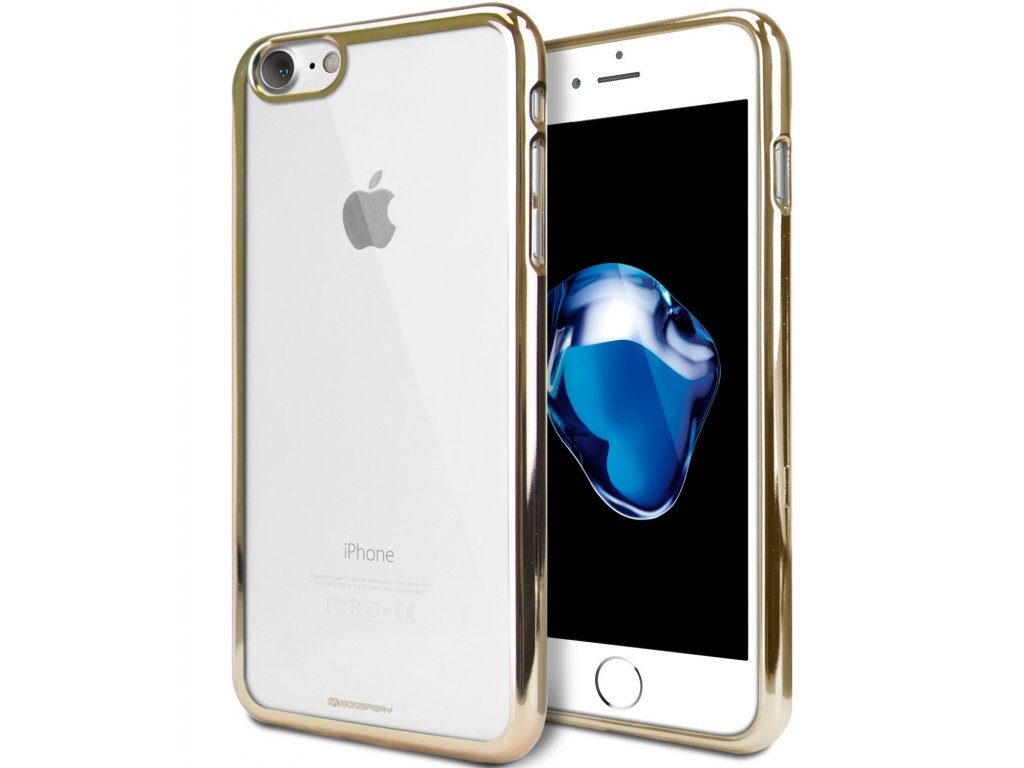 Pouzdro / kryt pro Apple iPhone 7 / 8 - Mercury, Ring2 Gold