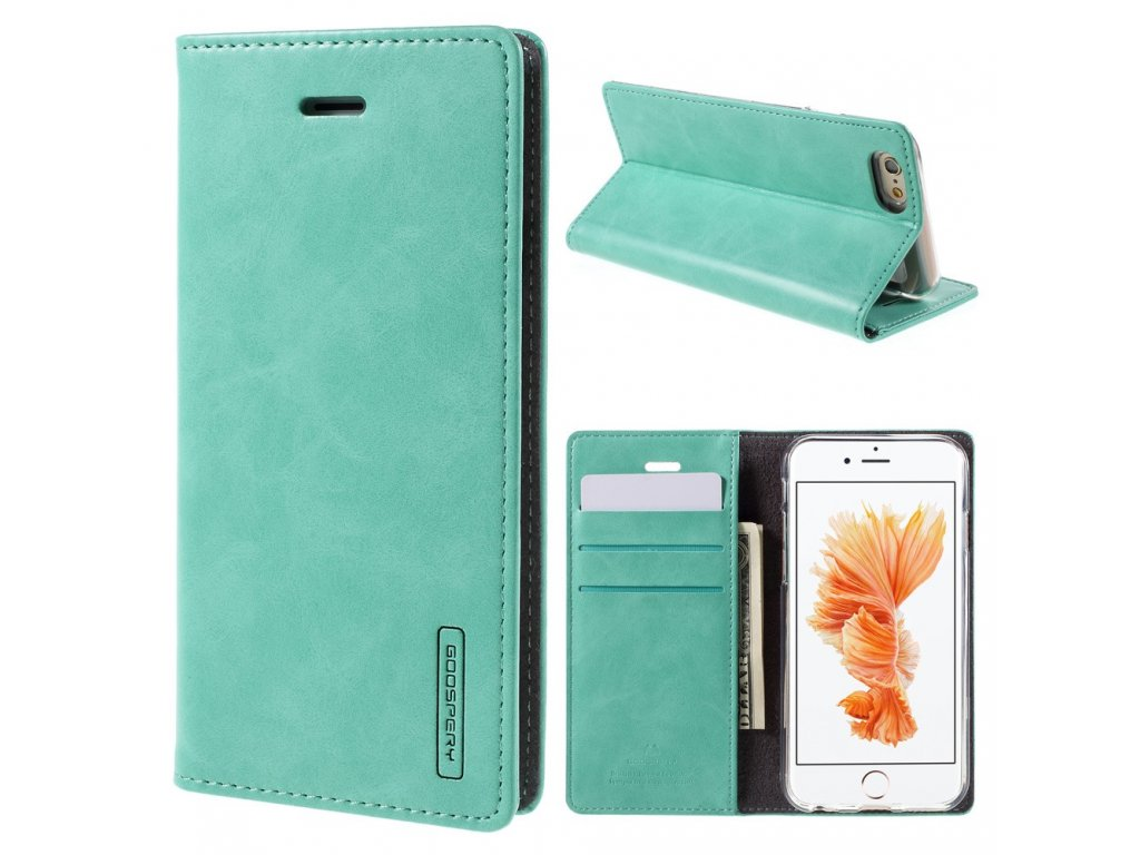 Pouzdro / kryt pro Apple iPhone 6 / 6S - Mercury, Bluemoon Flip Mint