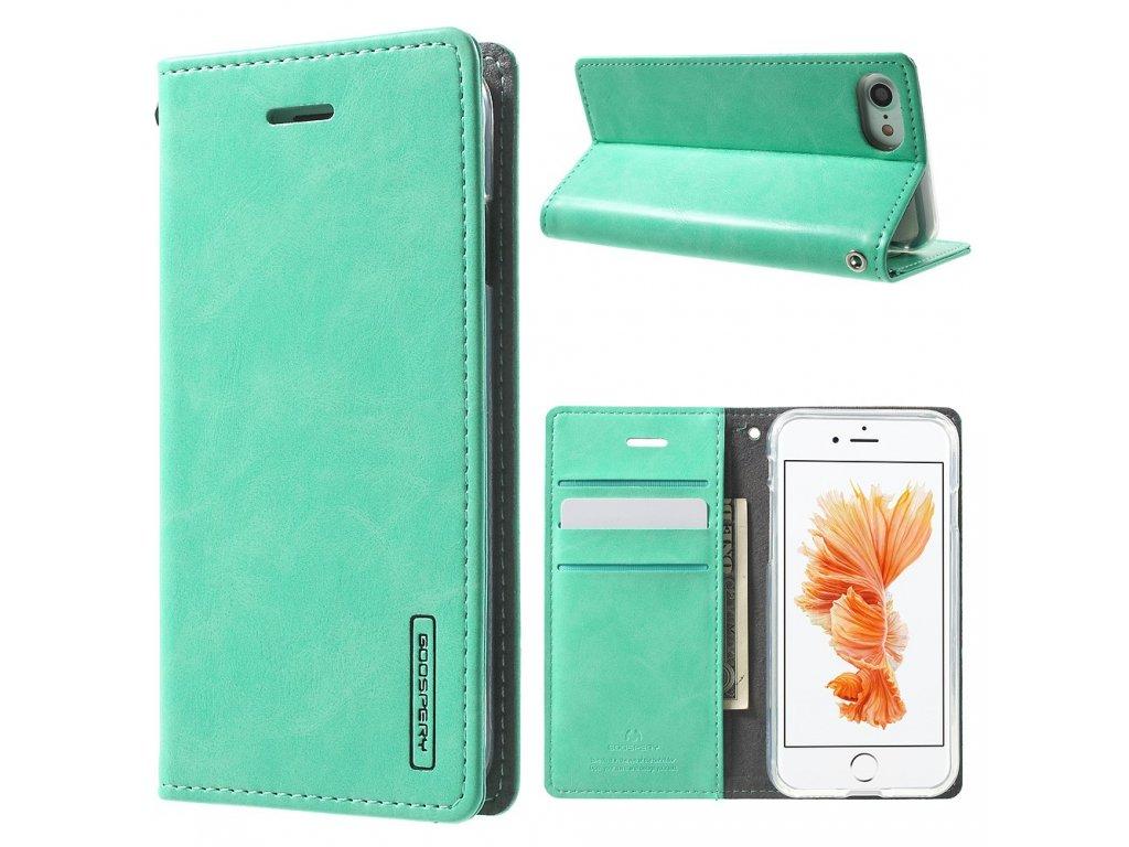 Pouzdro / kryt pro iPhone 7 / 8 - Mercury, Bluemoon Flip Mint