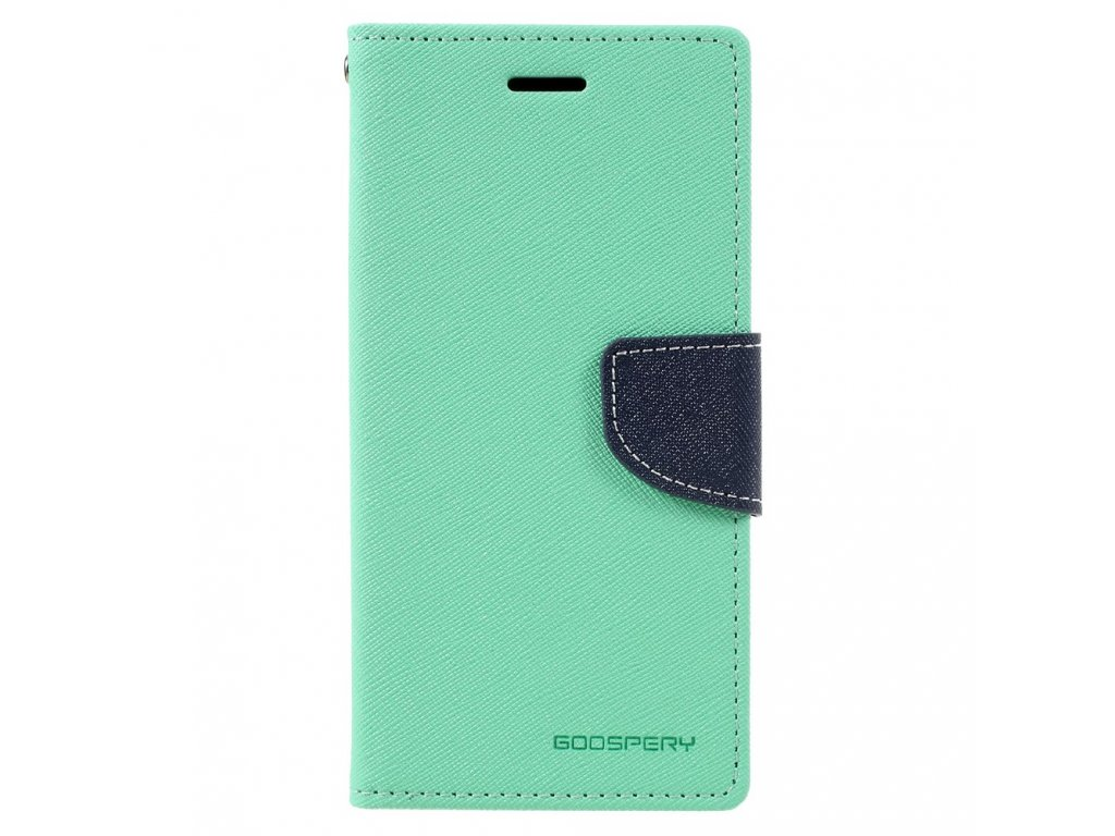 Pouzdro / kryt pro Samsung GALAXY A5 (2017) A520 - Mercury, Fancy Diary Mint/Navy