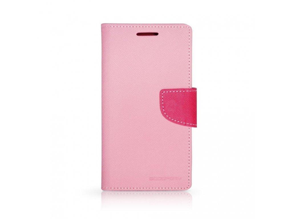 Pouzdro / kryt pro Samsung Galaxy S8 - Mercury, Fancy Diary Pink/Hotpink