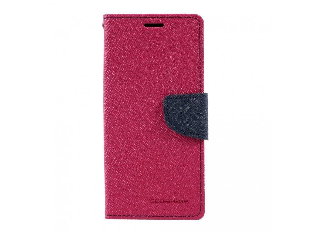 Pouzdro / kryt pro Samsung Galaxy S8 - Mercury, Fancy Diary Hotpink/Navy