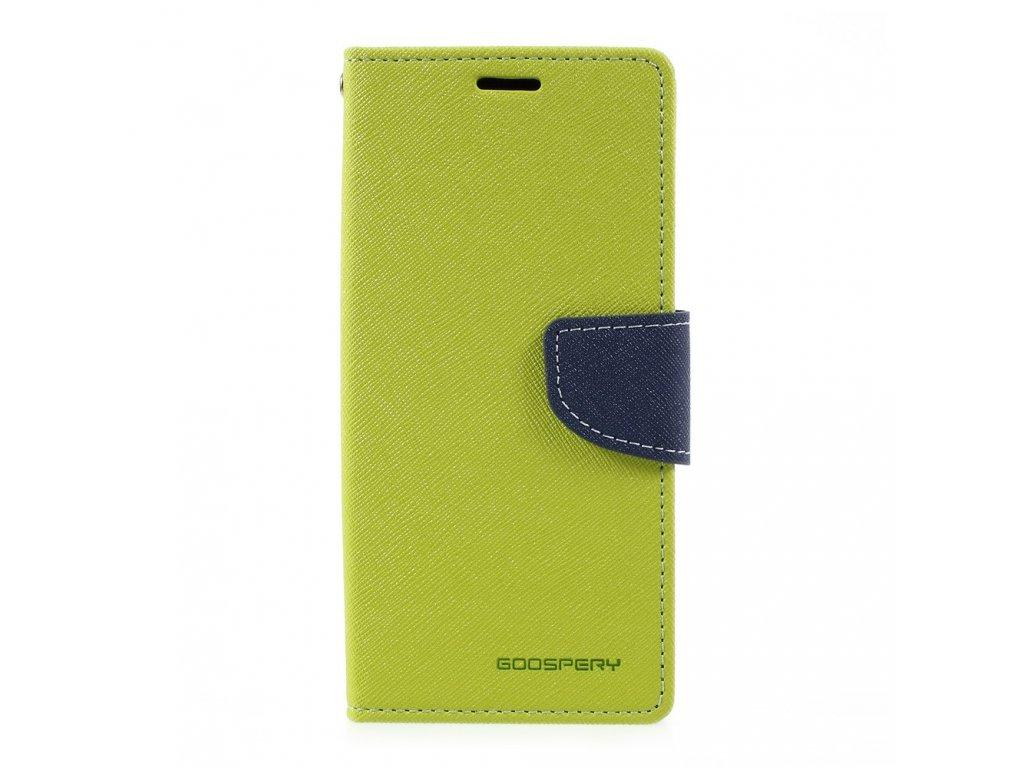Pouzdro / kryt pro Samsung Galaxy S8 - Mercury, Fancy Diary Lime/Navy