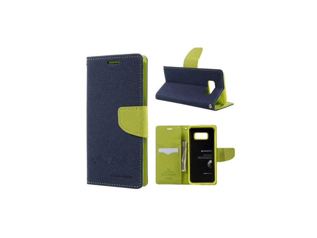 Pouzdro / kryt pro Samsung Galaxy S8 PLUS - Mercury, Fancy Diary Navy/Lime
