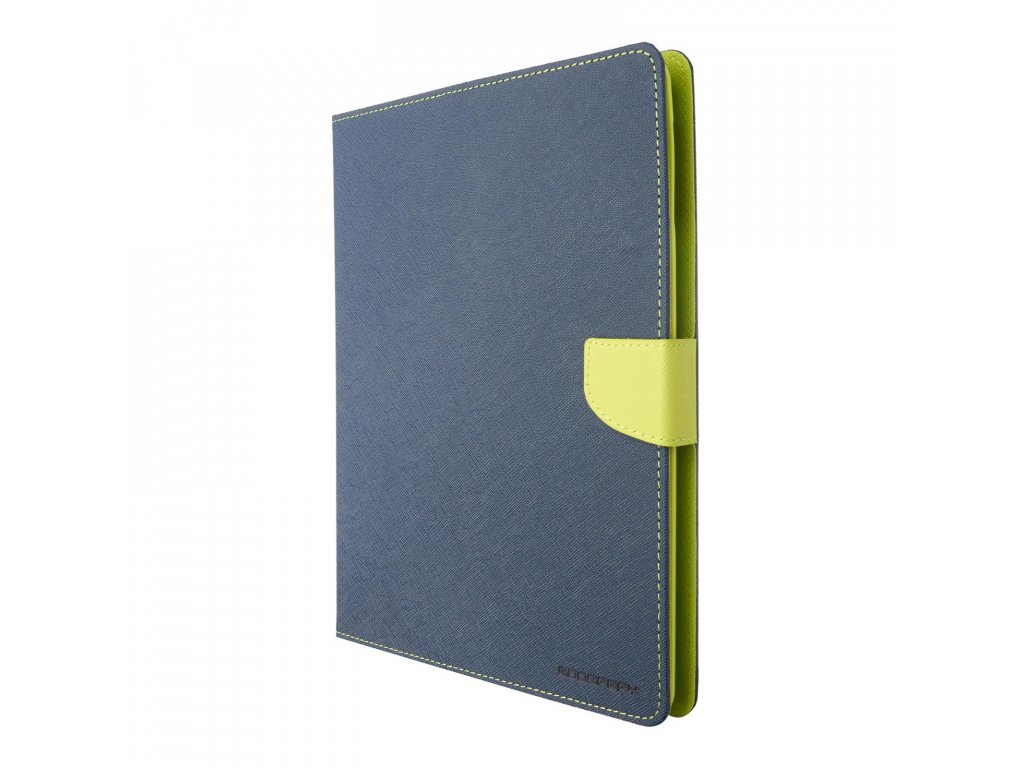 Pouzdro / kryt pro Apple iPad 2 / 3 / 4 - Mercury, Fancy Diary Navy/Lime