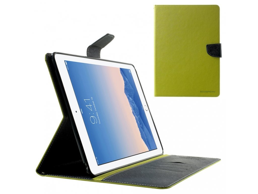Pouzdro / kryt pro Apple iPad Air 2 - Mercury, Fancy Diary Lime/Navy