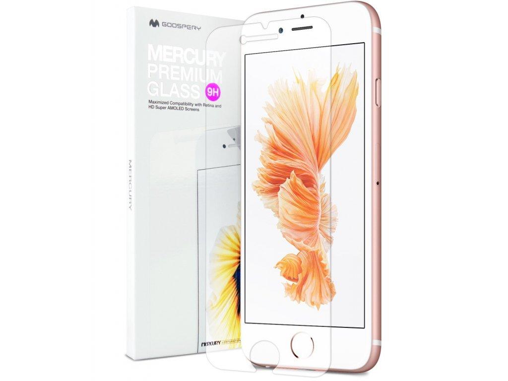 Ochranné tvrzené sklo na iPhone 6 / 6S - Mercury, Premium Glass