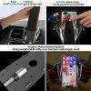 Samootvírací držák do auta / bezdrátová rychlá nabíječka - S5 Car Wireless Charger