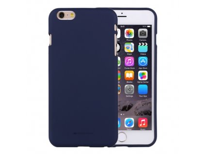 Ochranný kryt pro iPhone 6 / 6S - Mercury, Soft Feeling Midnight Blue