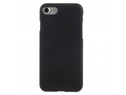 Ochranný kryt pro iPhone 7 / 8 / SE (2020) - Mercury, Soft Feeling Black