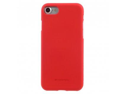 Ochranný kryt pro iPhone 7 / 8 / SE (2020) - Mercury, Soft Feeling Red