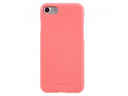Ochranný kryt pro iPhone 7 / 8 / SE (2020) - Mercury, Soft Feeling Pink