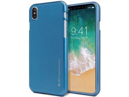 Ochranný kryt pro iPhone XS / X - Mercury, i-Jelly Blue