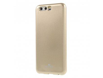 Pouzdro / kryt pro Huawei P10 - Mercury, Jelly Gold