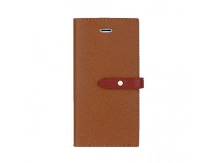 Pouzdro / kryt pro iPhone 6 / 6S - Mercury, Romance Diary BROWN/WINE
