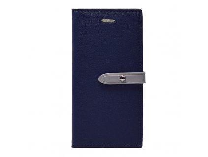 Pouzdro / kryt pro iPhone 6 / 6S - Mercury, Romance Diary NAVY/GREY