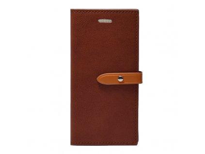 Pouzdro / kryt pro iPhone 6 / 6S - Mercury, Romance Diary WINE/BROWN