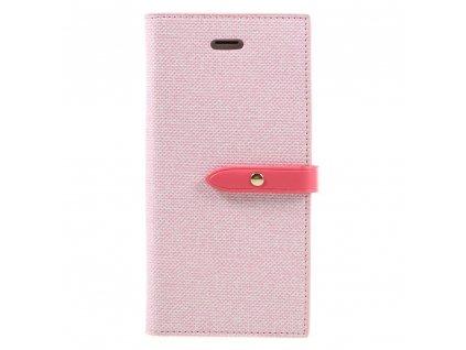 Pouzdro / kryt pro iPhone 7 / 8 / SE (2020) - Mercury, Milano Diary PINK/PINK