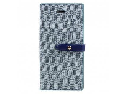 Pouzdro / kryt pro iPhone 7 / 8 / SE (2020) - Mercury, Milano Diary BLUE/BLUE
