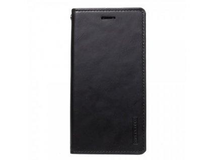 Pouzdro / kryt pro iPhone XS / X - Mercury, Bluemoon Flip BLACK
