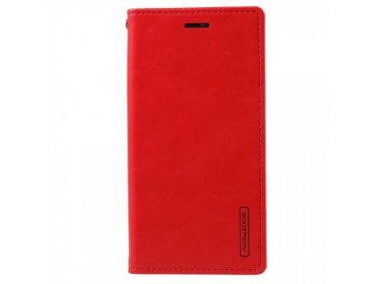 Pouzdro / kryt pro iPhone XS / X - Mercury, Bluemoon Flip RED