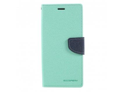 Pouzdro / kryt pro Samsung Galaxy Note 8 - Mercury, Fancy Diary MINT/NAVY