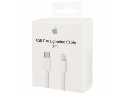 Originální kabel - Apple, USB-C/Lightning 100cm