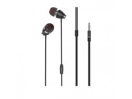 Sluchátka pro iPhone a iPad - HOCO, M28 Ariose Black