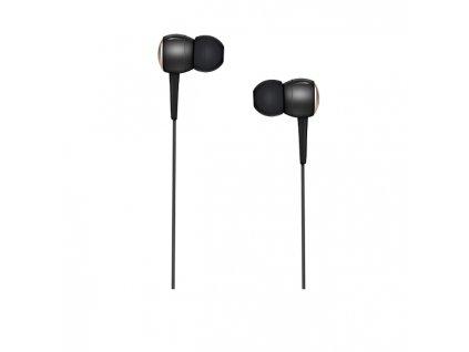 Sluchátka pro iPhone a iPad - HOCO, M19 Drumbeat Black