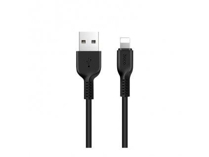 Kabel USB-A/Lightning pro iPhone a iPad - Hoco, X20 Flash Black