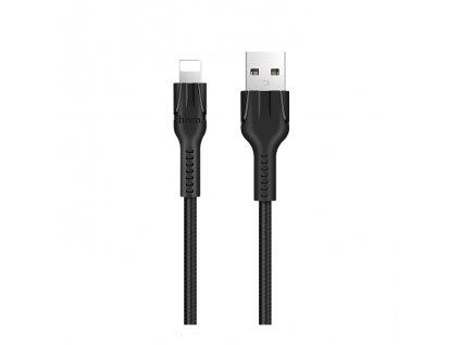 Kabel USB-A/Lightning pro iPhone a iPad - Hoco, U31 Benay Black