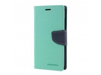 Pouzdro / kryt pro Xiaomi Mi6 - Mercury, Fancy Diary MINT/NAVY