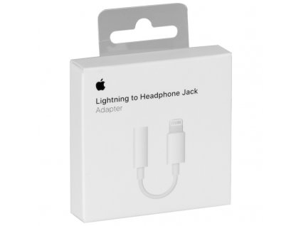 Lightning adaptér pro 3,5mm sluchátkový jack - Apple