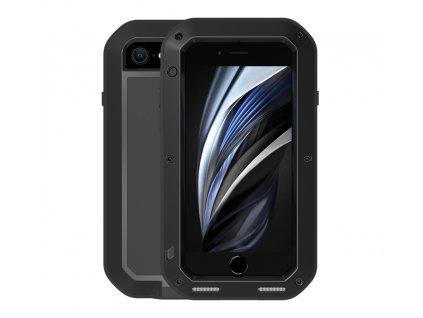 Ochranný kryt pro iPhone 7 / 8 / SE (2020) - LOVE MEI, Powerful Black