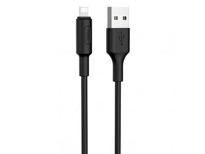 Kabel USB-A/Lightning pro iPhone a iPad - Hoco, X25 Soarer Black