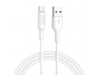 Kabel USB-C - Hoco, X25 Soarer White