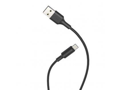 Kabel USB-C - Hoco, X25 Soarer Black