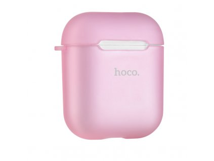Pouzdro pro sluchátka AirPods - Hoco, Case Pink