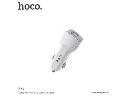 Auto-nabíječka pro iPhone a iPad - Hoco, Z23 Grand 2.4A