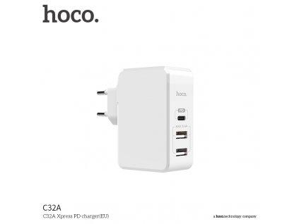 Sít'ový adaptér - Hoco, C32A PD 29W