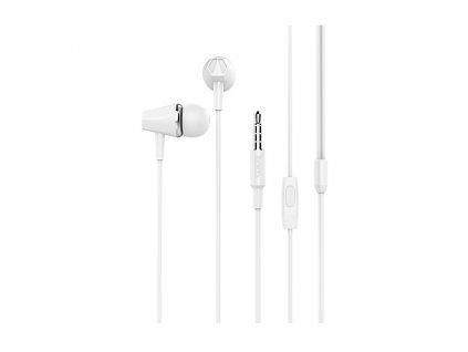 Sluchátka pro iPhone a iPad - HOCO, M34 Honor White