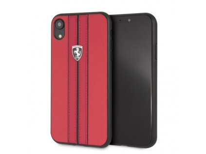 Ochranný kryt pro iPhone XR - Ferrari, OffTrack Back Red