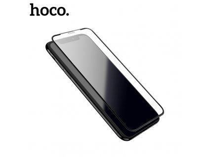 Ochranné tvrzené sklo pro iPhone XS MAX / 11 Pro MAX - Hoco, A1 Shatterproof 3D Black
