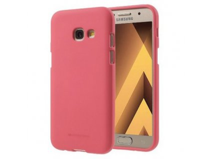 Pouzdro / kryt pro Samsung GALAXY A5 (2017) A520 - Mercury, Soft Feeling Pink