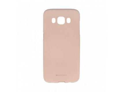 Pouzdro / kryt pro Samsung GALAXY J3 (2016) J3109 - Mercury, Soft Feeling Pink Sand