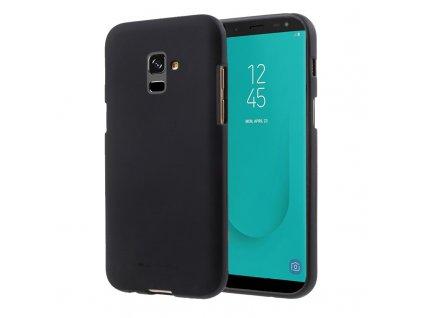 Pouzdro / kryt pro Samsung GALAXY J6 (2018) J600F - Mercury, Soft Feeling Black